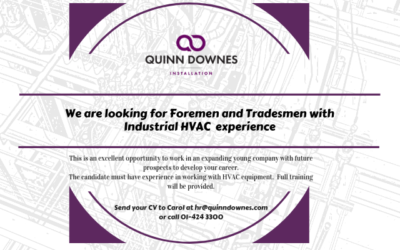 Foremen & Tradesmen wanted