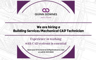 We're hiring a CAD Technician