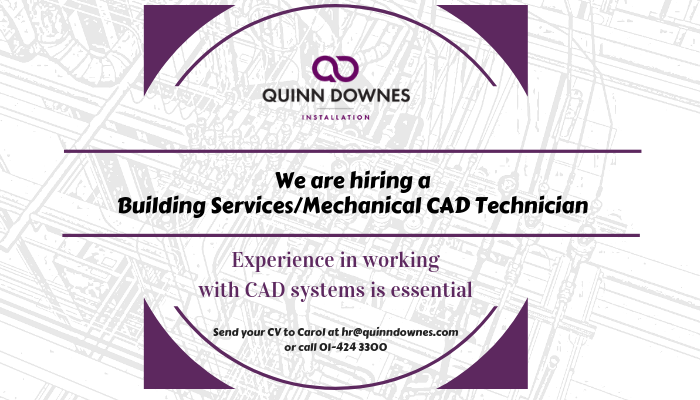 We're hiring a CAD Technician
