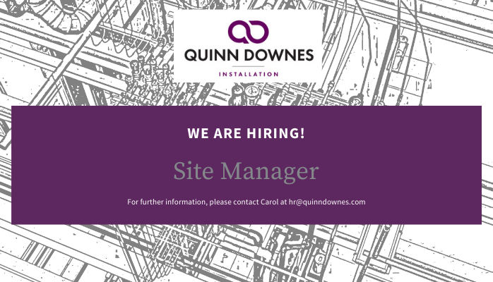 We're hiring a Site Manager